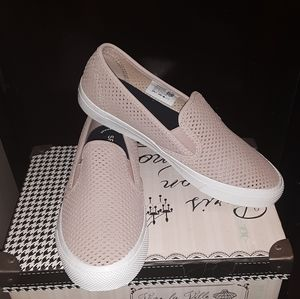 Sperrys/ NWOT/ women's perforated/ slip on